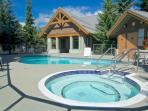 Glacier Reach Pool and hot tub