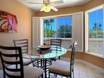 Bright and cheery Breakfast nook with beautiful views