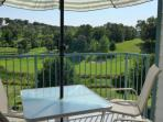 View of your Private Covered Deck, Overlooking the 1000's Hill's Golf Course.