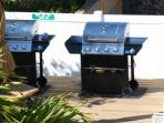 On site grills for guest use