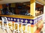 Tiki bar at Sunset Vistas