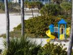 Playground nearby that is perfect for families with small children