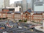 20 minutes by train to Tokyo station