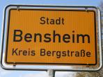 Stammhaus, direkt in Bensheim. In dem beliebten ruhiges Wohngebiet 'Weststadt' vor der Altstadt.