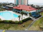 Enjoy the large swimming pool at the community.
