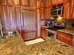 Picturesque Designer Gourmet Kitchen...Fully Equipped for Cooking and Entertaining