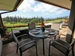 Imagine dining on your private Lanai with these gorgeous views!