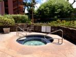 Relax in our Jacuzzi spa.