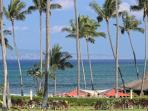 Spectacular views of the island of Molokai from your lanai.