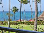Spectacular ocean views from your lanai.