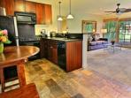 Aina Nalu D-103 with spacious kitchen and granite counter tops.