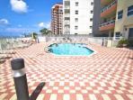 Outdoor beachside pool