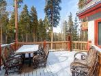 Happy Trails Lodge Deck Breckenridge Lodging Vacation Rentals