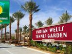 The Indian Wells Tennis Garden home to the 2nd largest tournament in the US is just minutes away