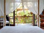 All bedrooms have mosquito nets. All bedrooms fully Air Contitioned except the bamboo house with fan