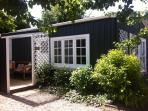 Nestled in a private garden setting, Plum Tree Studio is a lovely retreat.