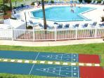 4 Shuffleboard Courts
