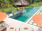 Puri Bawana - Pool in the afternoon