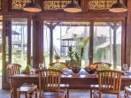 villa Saraswati, dining