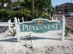 Pipers Nest-2 Bedroom/2 Bathroom Beachfront Hideaway Condominium-Indian Shores, FL