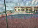 Enjoy a game of Tennis with this On-Site Tennis Court with Ocean View