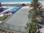 Play a Game of Tennis-Community On-Site Tennis Court