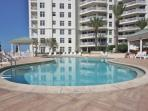 Communal Heated Pool/Hot Tub Overlooking The Fabulous Beaches of Clearwater