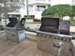Communal Grill Stations-Perfect for Grilling Burgers or That Fresh Catch