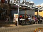 Restaurant at La Mata Beach