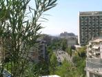 View of Hilton hotel & Acropolis