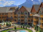 Canmore and this stunning resort are circled by the magnificent Rockies