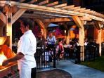 Dine on tasty tapas at the resort's popular wine bar