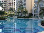View of Pool Jacuzzis