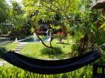 Hammock at veranda