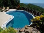 pool with safety net