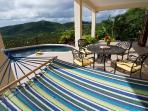 lower floor veranda and pool deck
