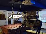 Treadmill overlooking Projection