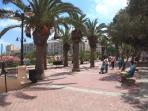 Sliema promenade perfect for daytime/evening walks