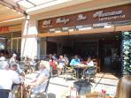 Enjoy a coffee in Zenia Boulevard
