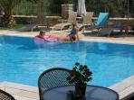 Swim and relax in the pool of Harmony