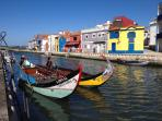 Day Trip to Aveiro canals