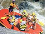 Rafting during the summer months......got to have water.