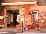 Roussillon village shops