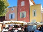 Roussillon village provencal markets every Thursday