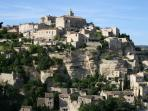 Nearby village of Gordes