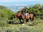 horse back riding from kibbutz Hulata