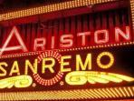 Ariston Theatre, location of the famous Festival della Canzone Italiana