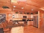 Breakfast Bar - open floor plan - keep the cook company!