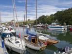 Eyemouth boasts lots of nautical visitors as they moor in the harbour to enjoy the local facilities