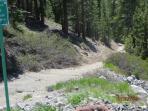 Hiking and Biking trails next to condo